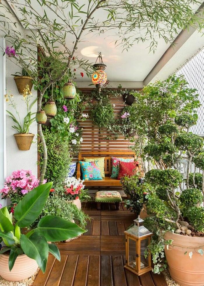 Зимний сад на утепленной лоджии квартиры