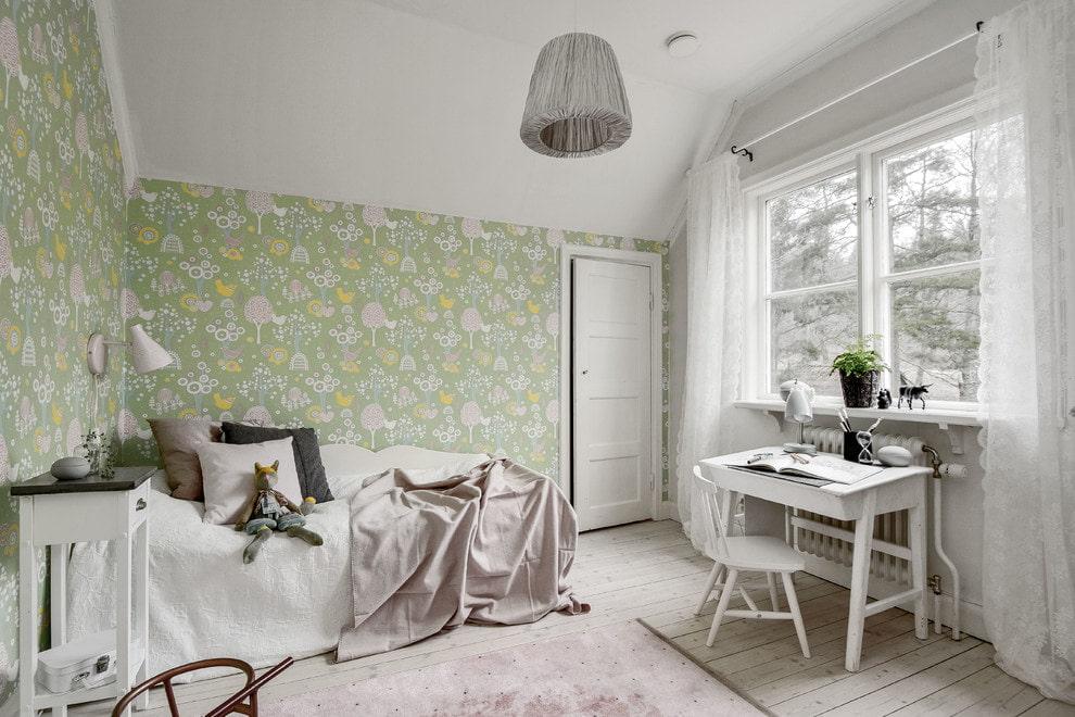 Стильная комната для девочки подросткового возраста