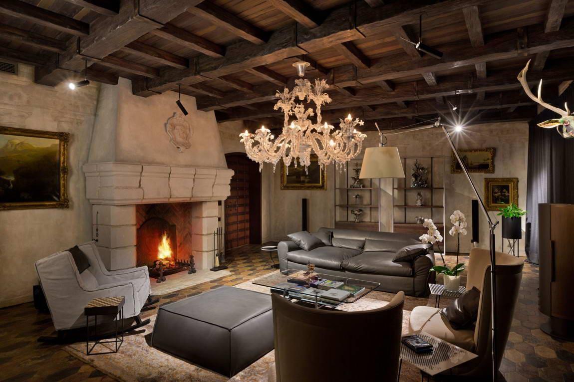 средневековая гостиная