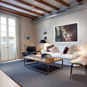 стиль интерьера гостиной дизайн