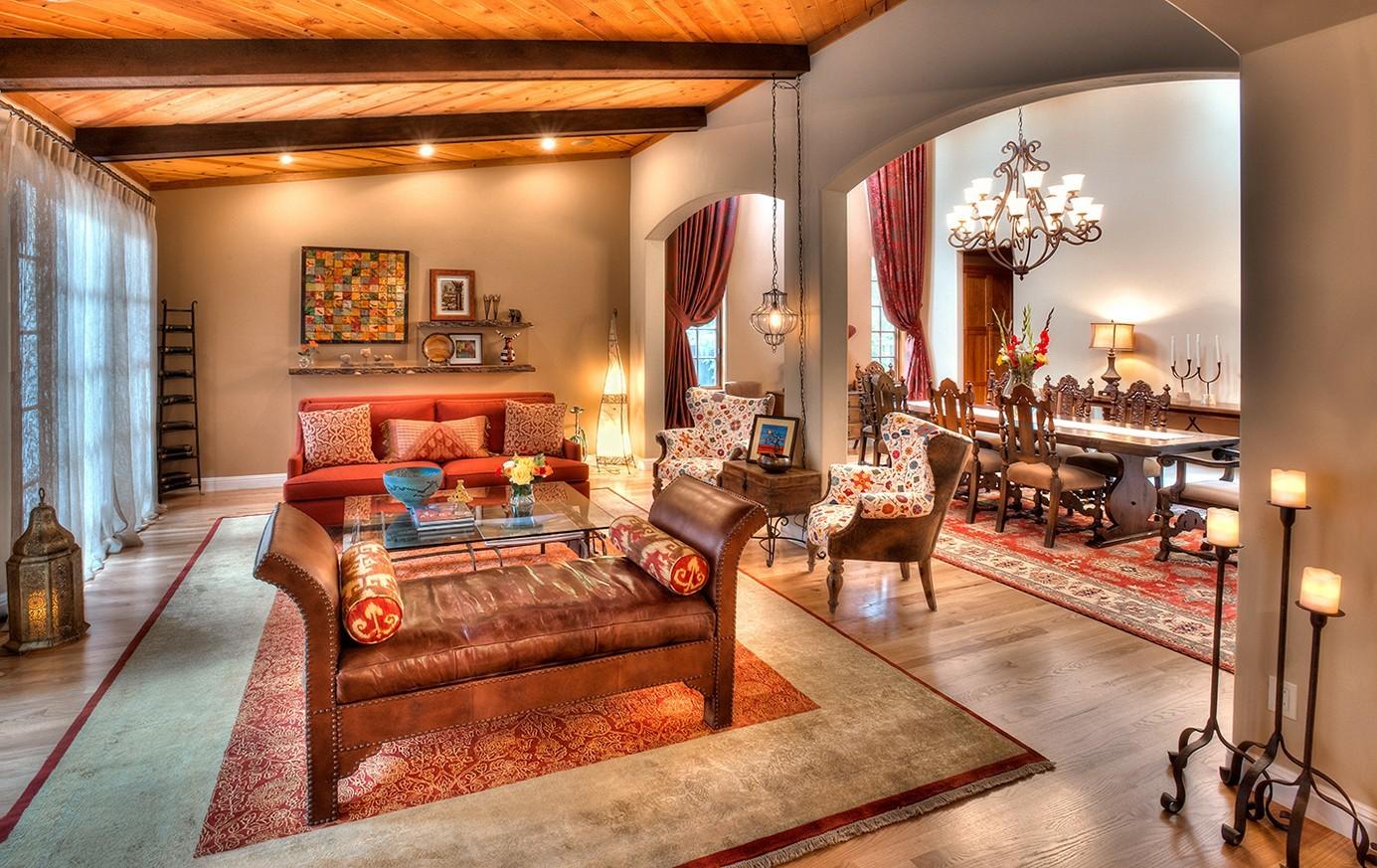 марокканская гостиная