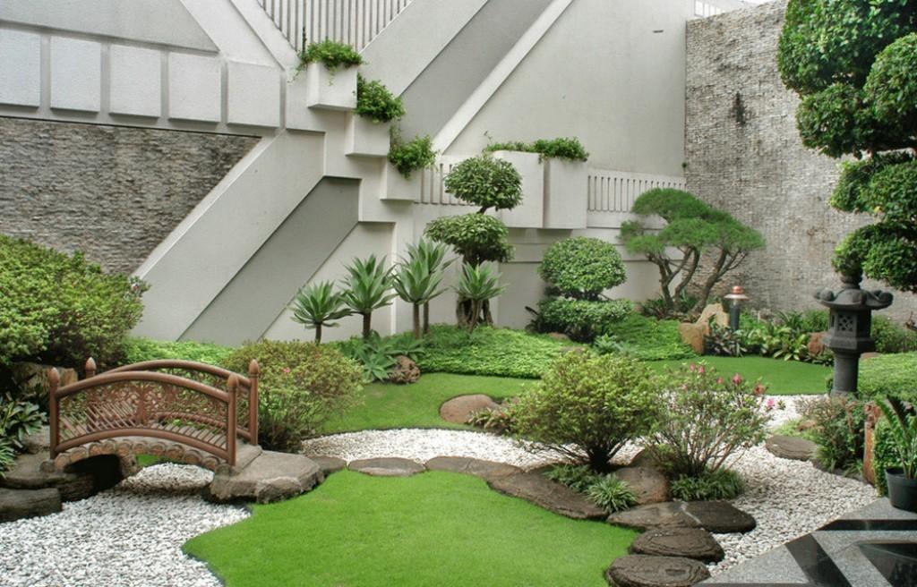Сад в японском стиле на пяти сотках
