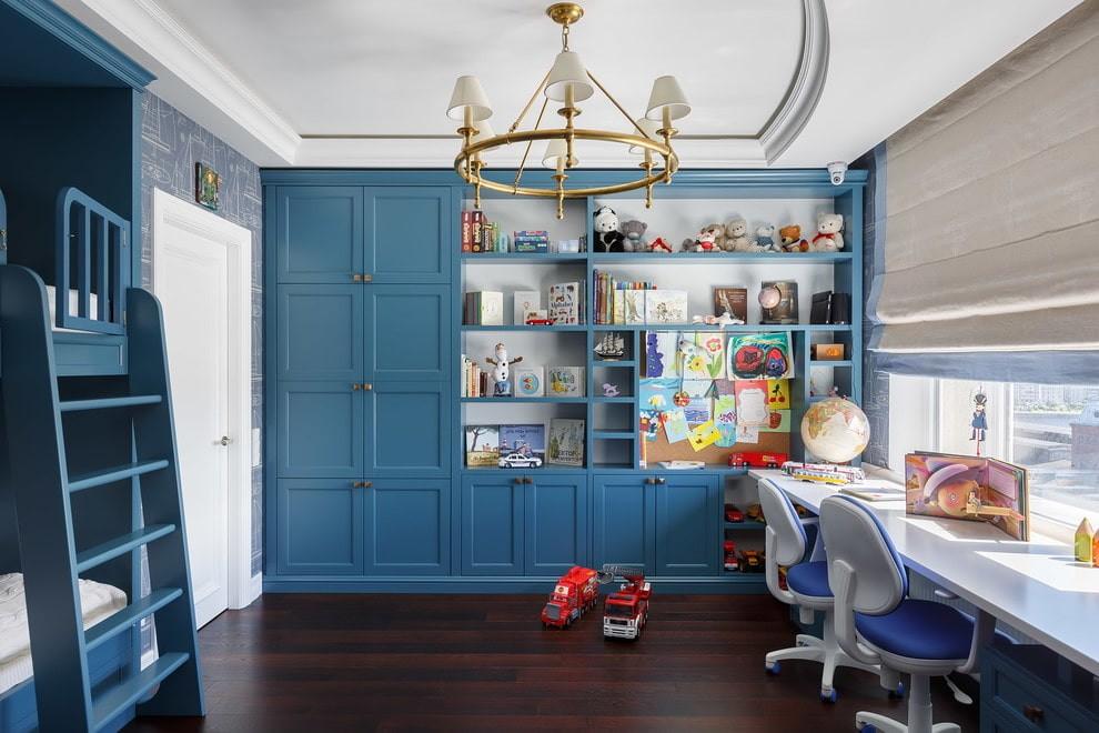 Встроенные шкафы в детской комнате