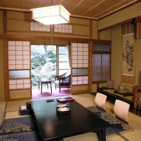фото японской гостиной