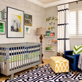 зонирование детской комнаты дизайн идеи
