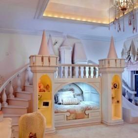 зонирование детской комнаты идеи дизайна