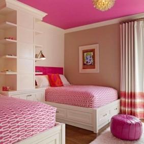 зонирование детской комнаты интерьер идеи