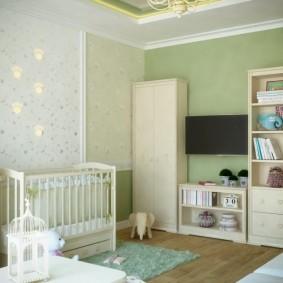 зонирование детской комнаты фото оформления
