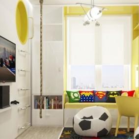 зонирование детской комнаты оформление идеи