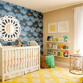 зонирование детской комнаты идеи оформление