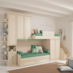 зонирование детской комнаты идеи оформления