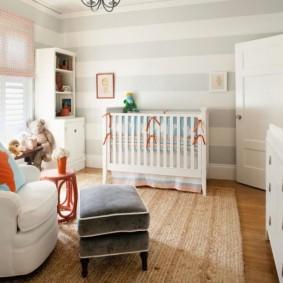 зонирование детской комнаты виды