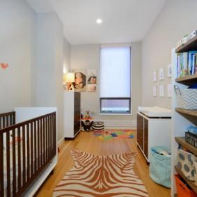 зонирование детской комнаты виды фото