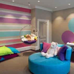 зонирование детской комнаты идеи виды