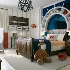 зонирование детской комнаты виды дизайна
