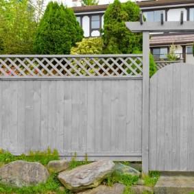 деревянный забор виды