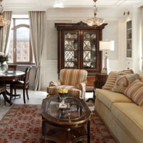 американский стиль квартиры фото интерьера