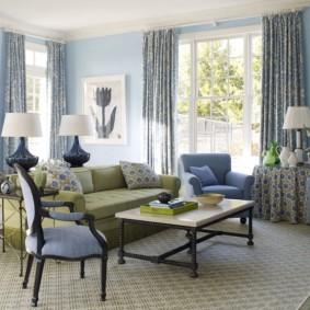 американский стиль квартиры идеи интерьера