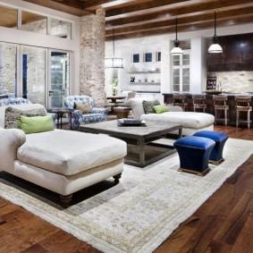 американский стиль квартиры фото оформление