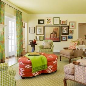 американский стиль квартиры фото оформления