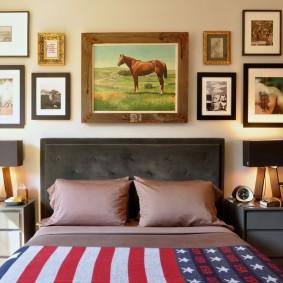 американский стиль квартиры оформление идеи