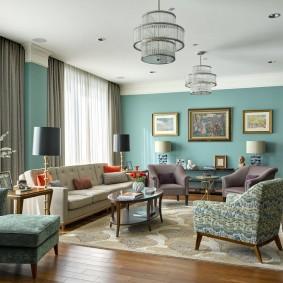 американский стиль квартиры дизайн