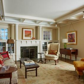 американский стиль квартиры фото дизайн