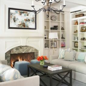американский стиль квартиры фото дизайна
