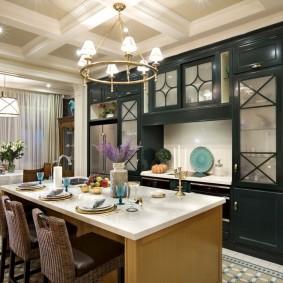 американский стиль в интерьере квартиры фото