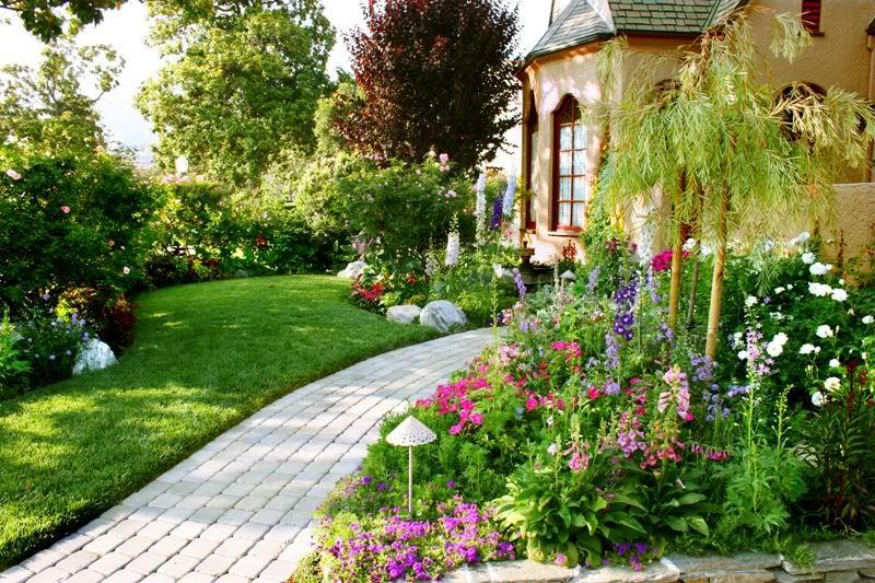 садовый участок 6 соток английский стиль