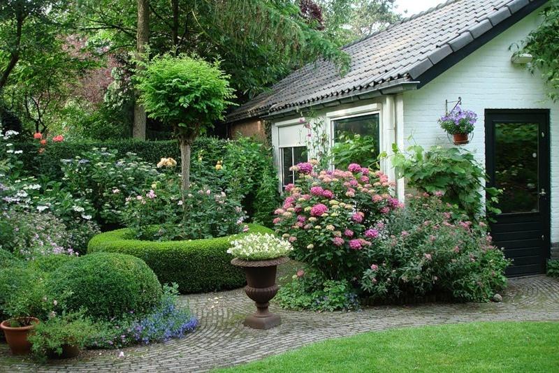английский стиль в саду