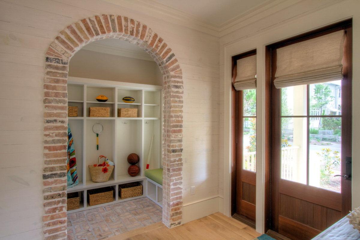 оформить портал двери декоративным камнем фото способны улавливать