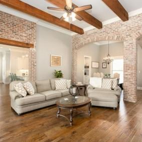 арка из камня в квартире идеи декора
