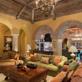 арка из камня в квартире идеи оформления