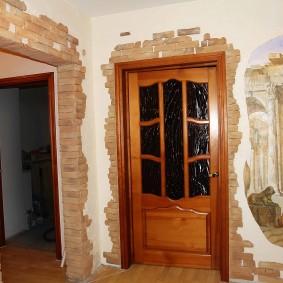арка из камня в квартире обзор