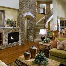 арка из камня в квартире виды дизайна