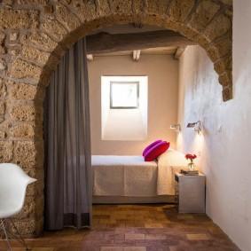 арка из камня в квартире фото дизайн