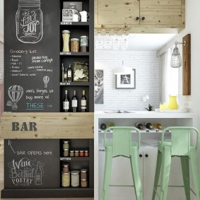 барная стойка в квартире дизайн идеи