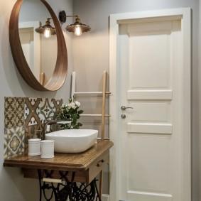белые двери дизайн