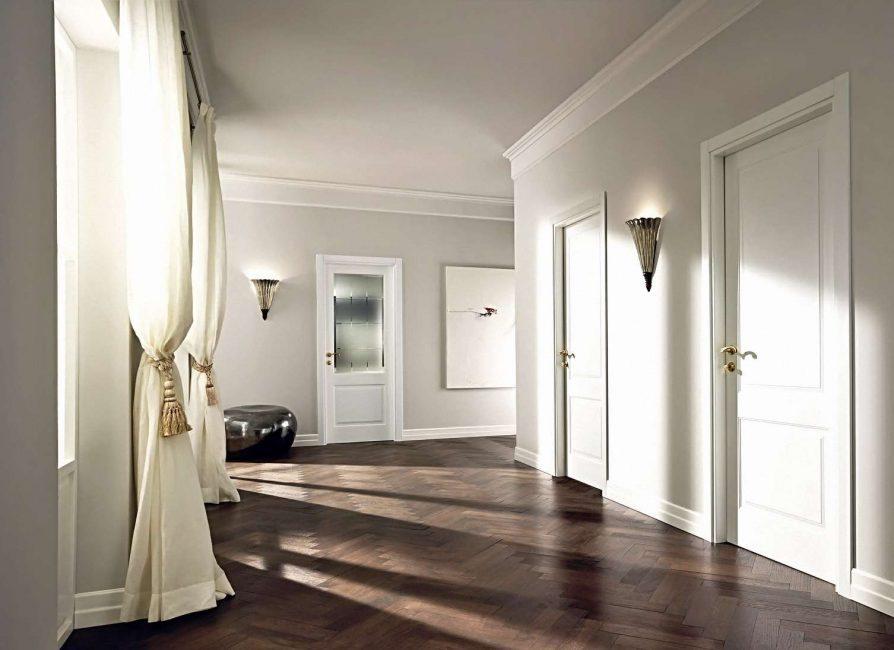белые двери дизайн идеи
