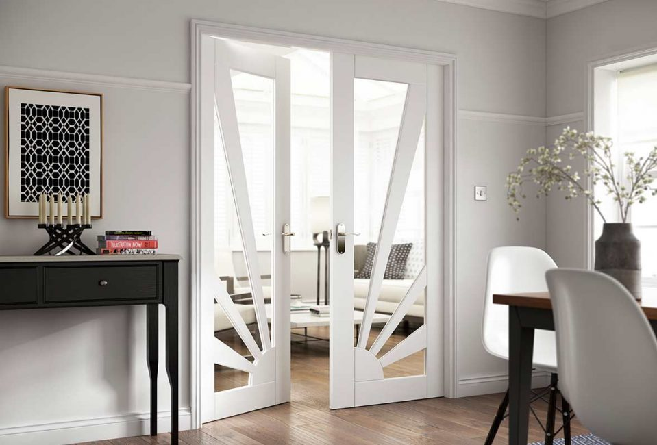 белые двери фото дизайна
