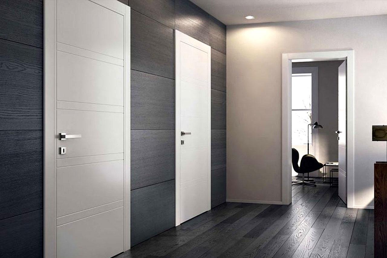 белые двери идеи дизайн