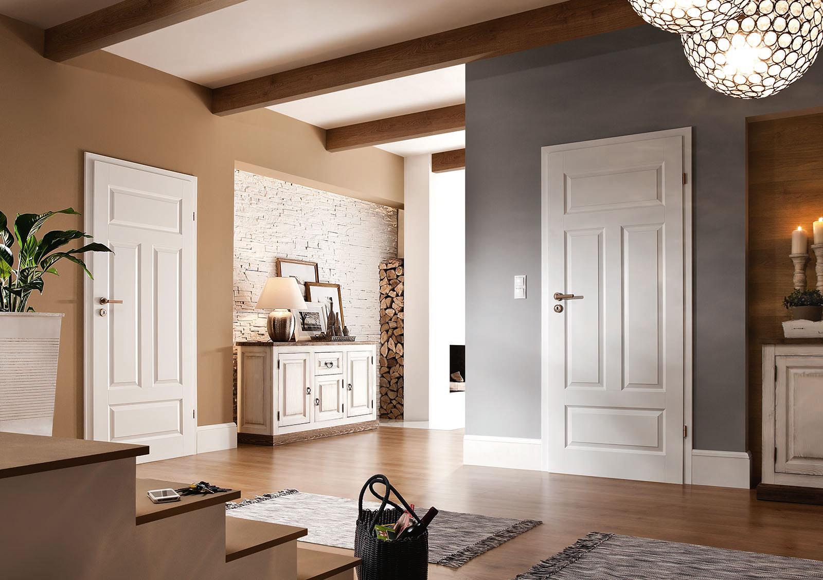 белые двери идеи дизайна