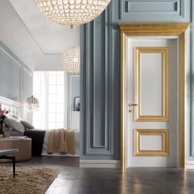 белые двери идеи интерьера