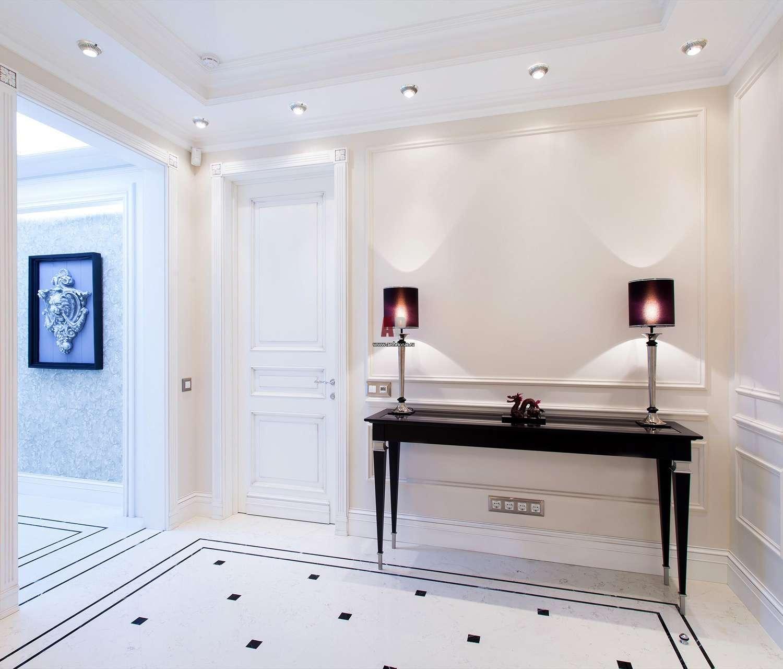 белые двери оформление