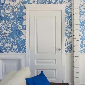 белые двери в квартире идеи дизайн