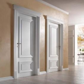белые двери в квартире идеи дизайна