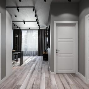 белые двери в квартире идеи интерьера