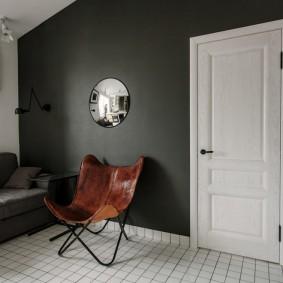белые двери в квартире фото оформление