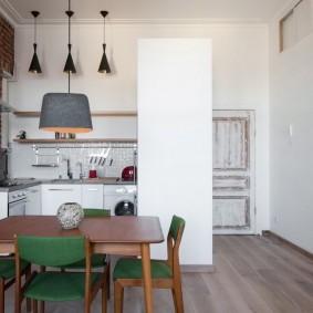 белые двери в квартире варианты идеи